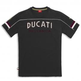 Pánské tričko Ducati Meccanica černé, originál