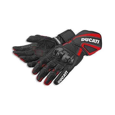 Pánské kožené moto rukavice Ducati Performace 14, originál