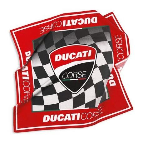 Šátek Ducati Corse 14 červený, originál