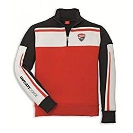 Pánská mikina Ducati Corse červená, originál