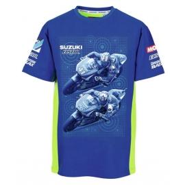 Pánské tričko Suzuki Moto GP Team modré, originál