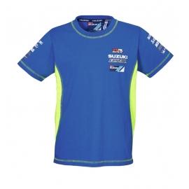 Pánské tričko Suzuki MotoGP team modré, originál