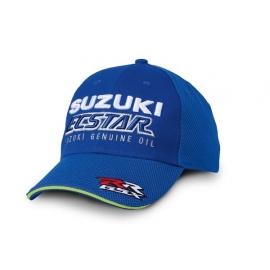 Kšiltovka Suzuki ECSTAR modrá, originál