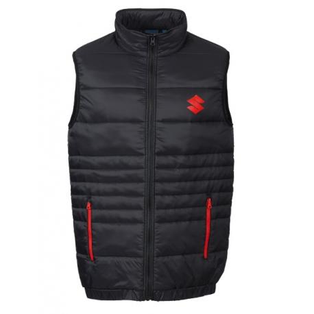 Pánská vesta Suzuki černá, originál