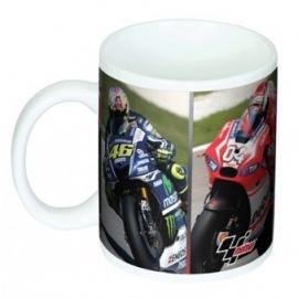 Hrnek MotoGP s fotky závodníků, originál