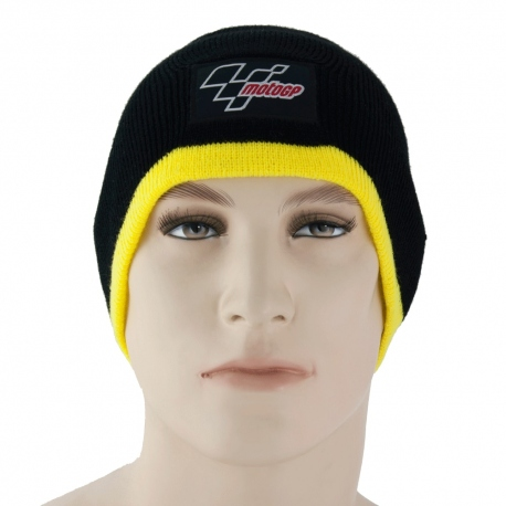Čepice MotoGP černo-žlutá, originál
