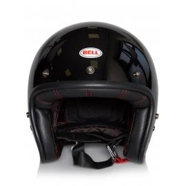 Moto helma Bell Custom 500 Solid Black