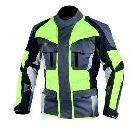 Pánská textilní moto bunda Cyber Gear Tour Long, Fluo