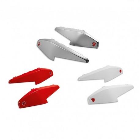 Ducati Multistrada kryty bočních kufrů - bílé Iceberg