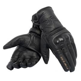 Pánské moto rukavice Dainese CORBIN D-DRY černá (unisex)