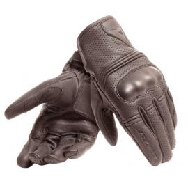 Pánské moto rukavice Dainese CORBIN AIR hnědá (unisex)