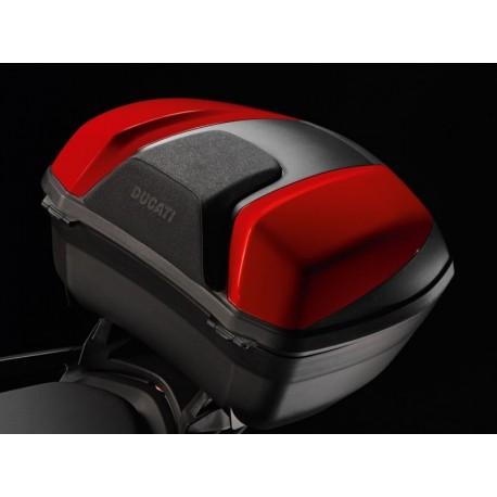 Ducati Multistrada kryty topcase - červené