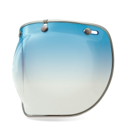Bell 3 Snap Bubble Deluxe Shield Ice Blue
