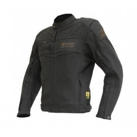 Pánská kožená moto bunda Spark Mike, černá
