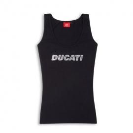 Dámské tílko Ducati Stardust černé, originál