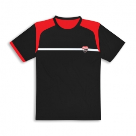 Pánské tričko Ducati DC Power černé, originál