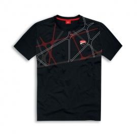 Pánské tričko Ducati Graphic Net černé, originál