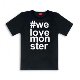 Pánské tričko Ducati Monster černé, originál