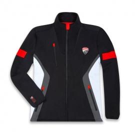 Pánská fleecová bunda Ducati DC Power černá, originál
