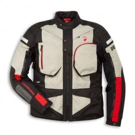 ¨Pánská textilní moto bunda Ducati Atacama C1 bílá, originál