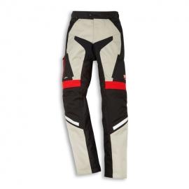 Pánské textilní moto kalhoty Ducati Atacama C1 bílé, originál