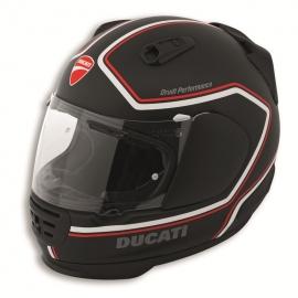 Moto helma Ducati Red Line černá, originál