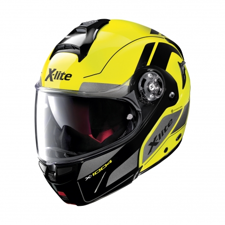 Moto helma X-Lite X-1004 Charismatic N-Com Led Yellow 22