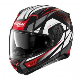 Moto helma Nolan N87 Originality N-Com Glossy Black 65