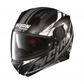 Moto helma Nolan N87 Fulmen N-Com Flat Black 51