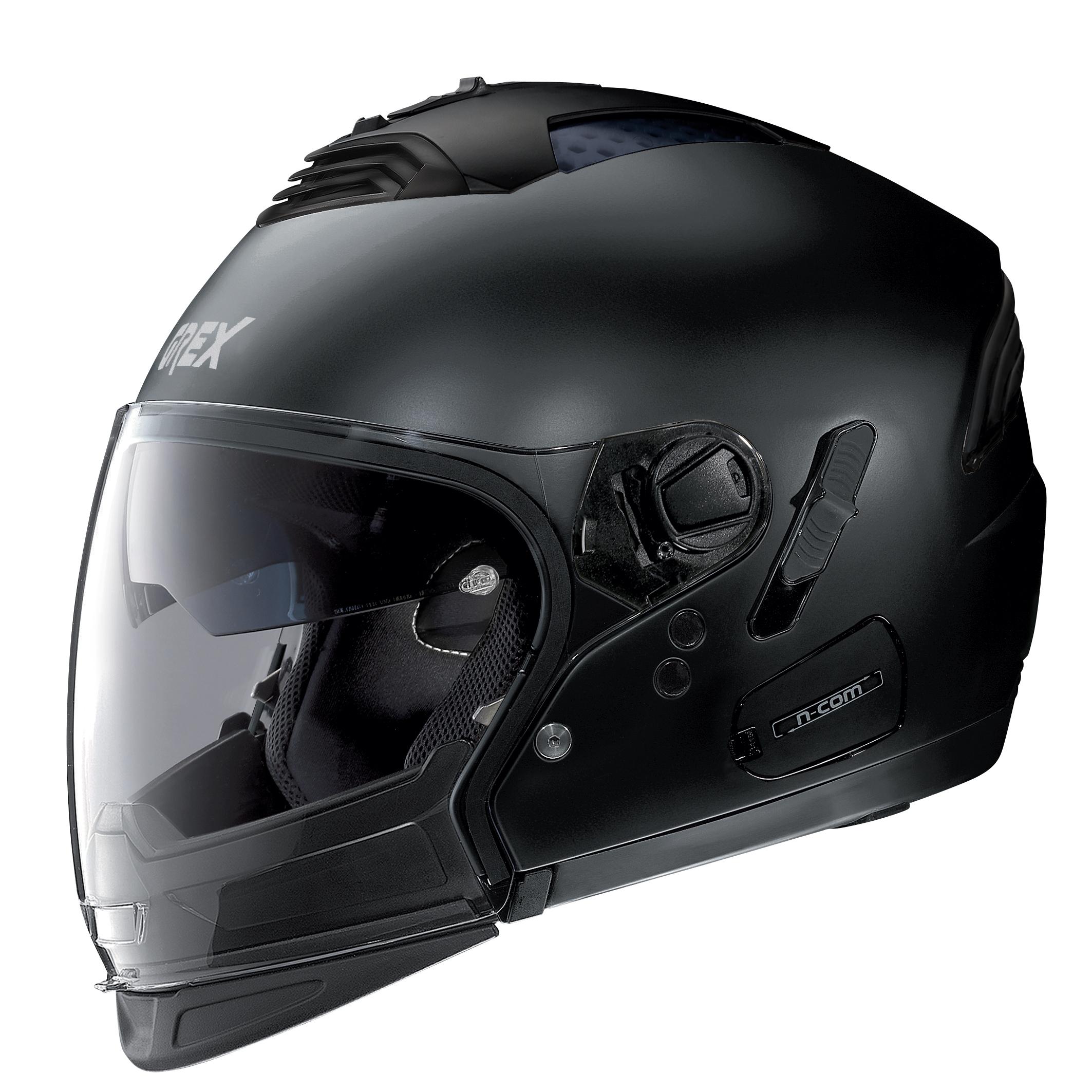 Moto helma Grex G4.2 PRO Kinetic N-Com Flat Black 22