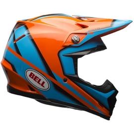 Moto helma Bell Moto-9 Spark Orange
