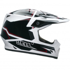 Moto helma Bell MX-9 Blockade White