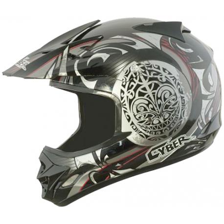 Moto helma Cyber UX-25, černá