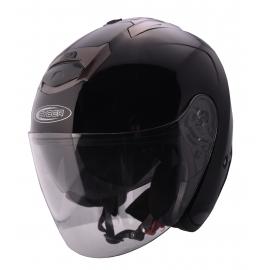 Moto helma Cyber U-386, černá