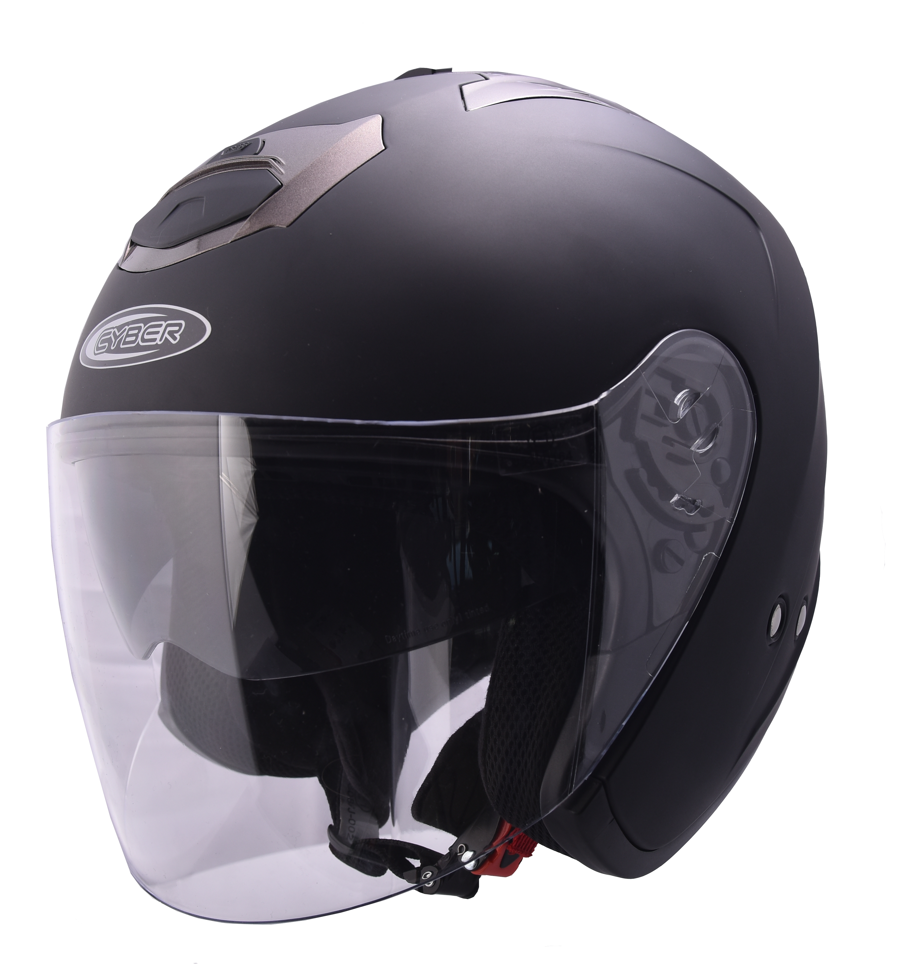 Moto helma Cyber U-386, černá matná