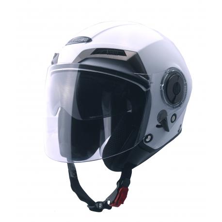 Moto helma Cyber U-44, bílá