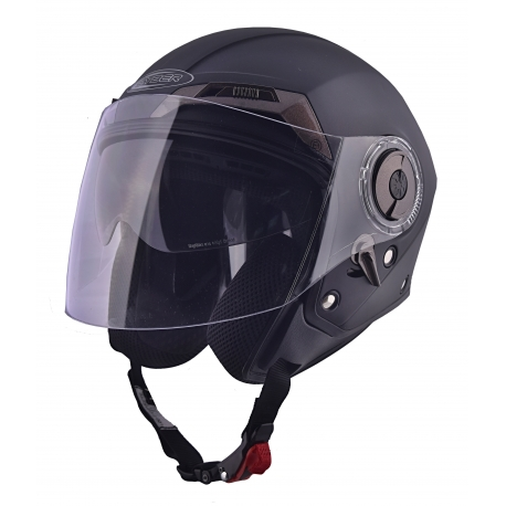 Moto helma Cyber U-44, černá matná