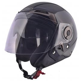 Moto helma Cyber U-44, černá