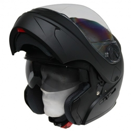 Moto helma Cyber U-217, černá matná