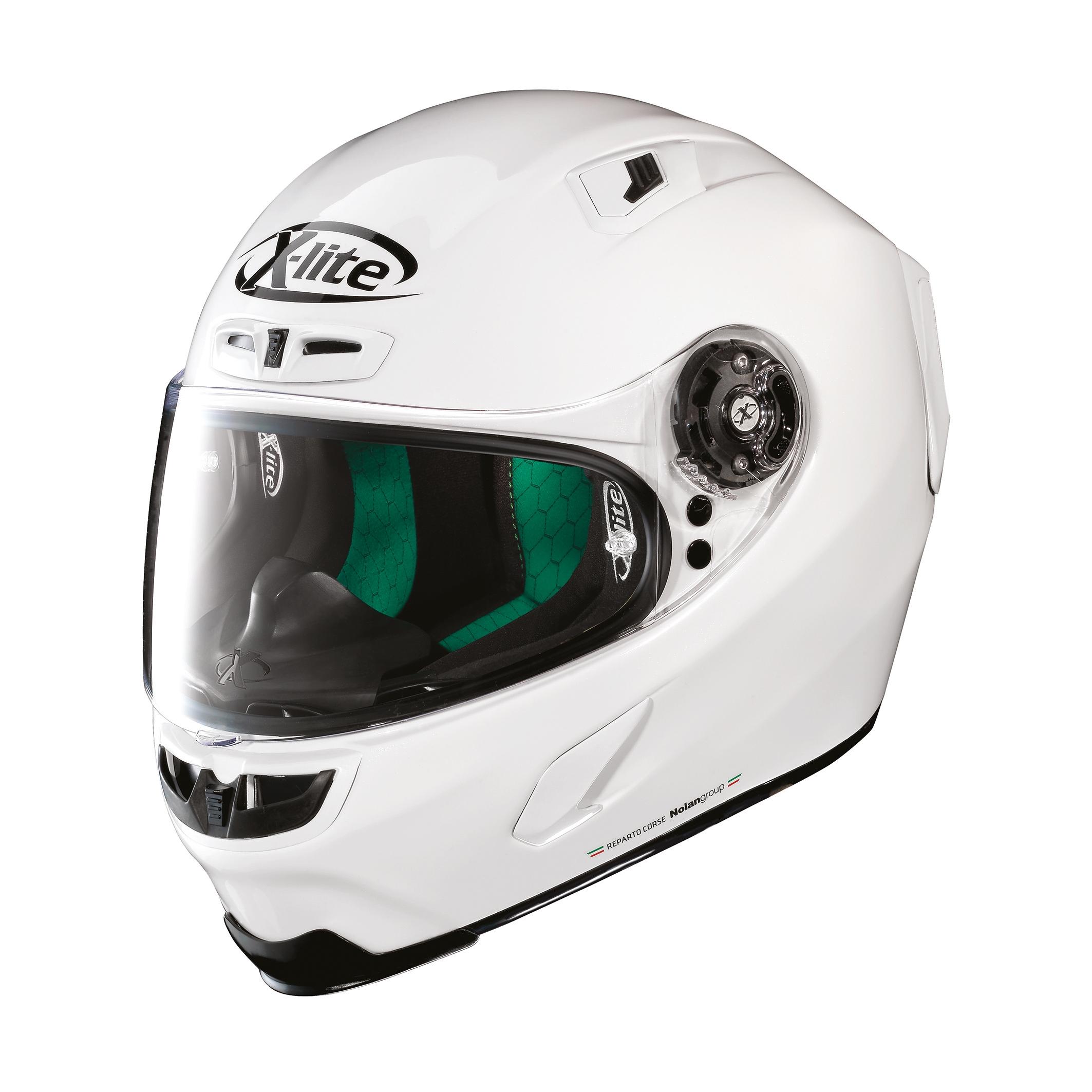 Moto helma X-Lite X-803 Start Metal White 3
