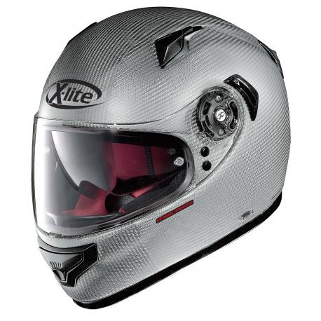 Moto helma X-Lite X-661 Extreme Titantech Puro N-Com Flat Titanium 2 - XL