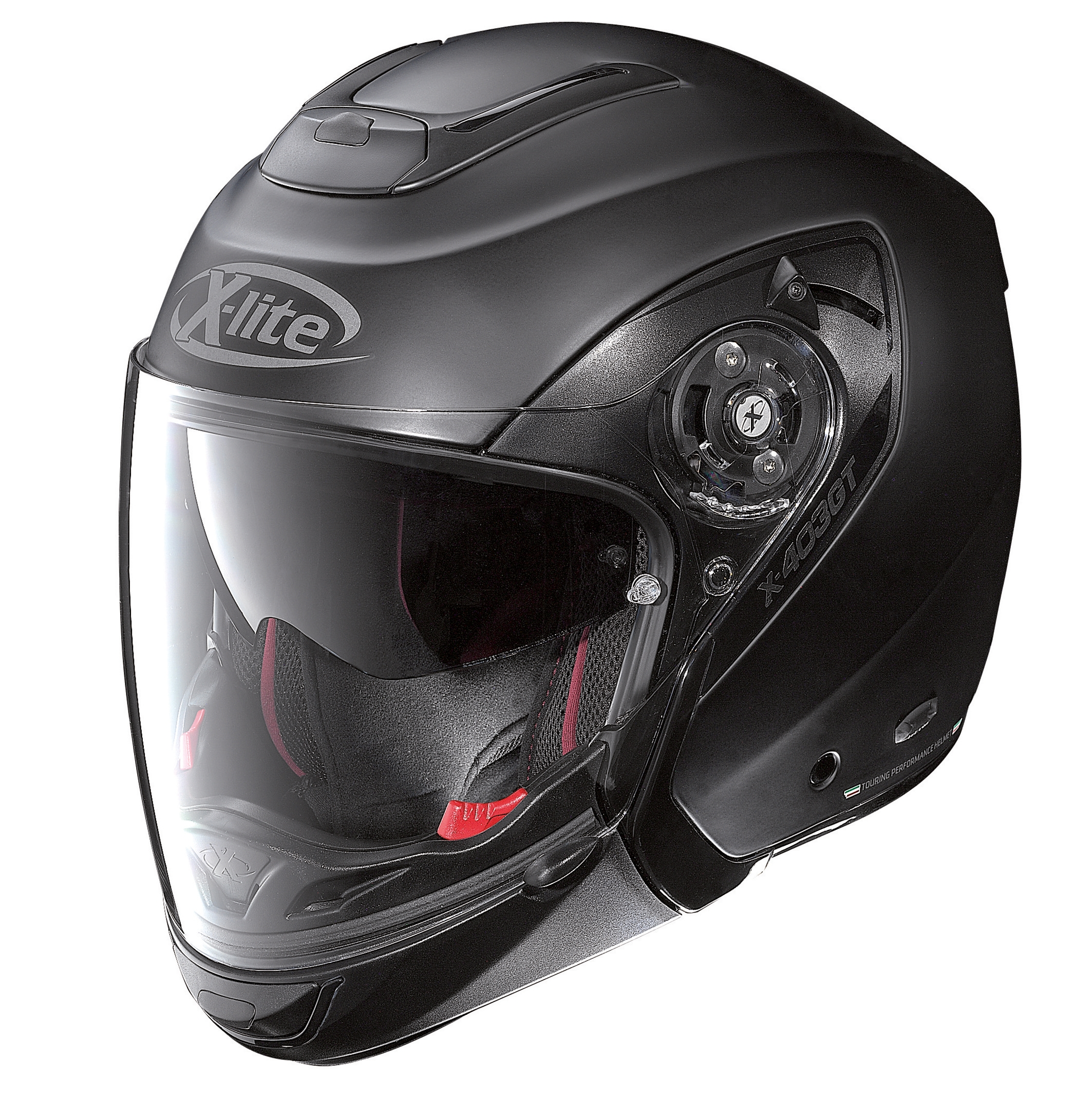 Moto helma X-Lite X-403 GT Elegance N-Com Flat Black 4