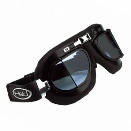 Motocyklové brýle Held CLASSIC, černý rám, lomené, dvojité sklo