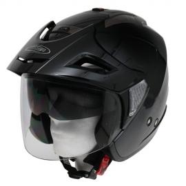 Moto helma Cyber U-388, černá lesklá