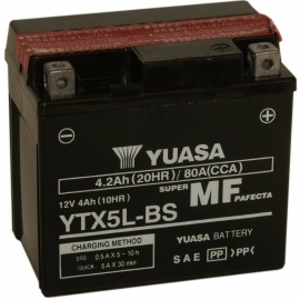 Motobaterie Yuasa YTX5L-BS