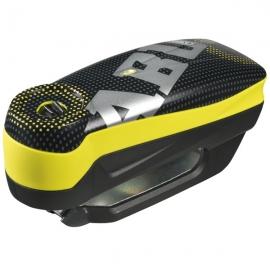 Zámek na kotoučovou brzdu s alarmem ABUS Detecto 7000 RS1 PIXEL YELLOW