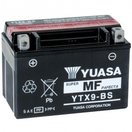 Baterie YUASA 12V 8Ah YTX9-BS (dodáváno s kyselinovou náplní)