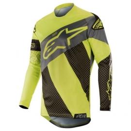 Pánský MX dres Alpinestars RACER TECH ATOMIC fluo žlutá/černá