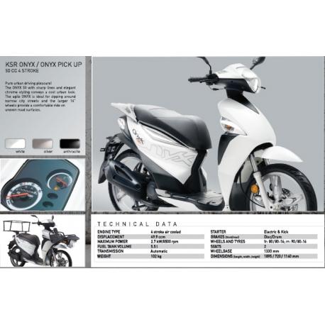 Skútr KSR Moto Onyx 50