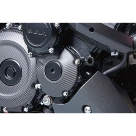 Karbonový kryt startéru Suzuki Katana, originál